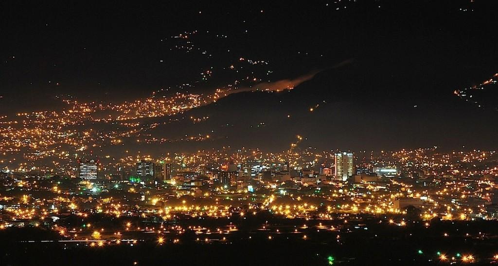 San Josè by night
