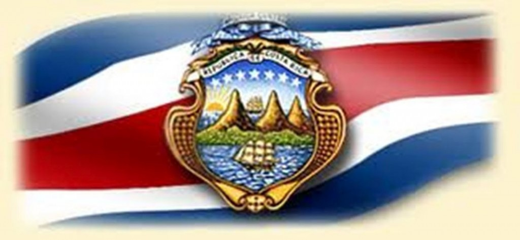 organizzazione- politica -costa -rica- bandera