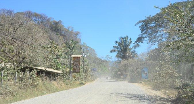 strade polverose costarica