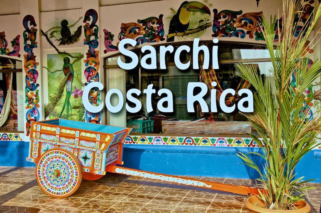 Mobili e artigianato i migliori della Costa Rica a Sarchí.
