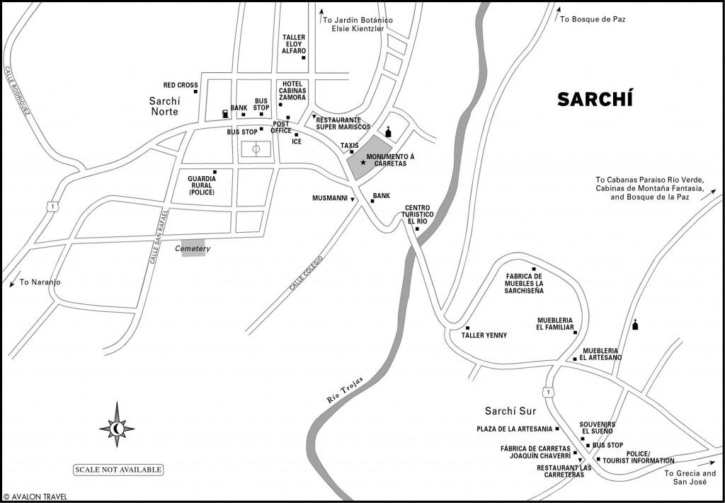 Sarchi-Costa-Rica-Map