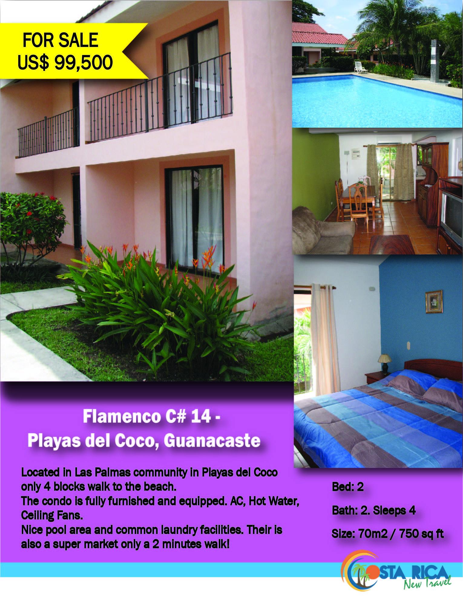 Flamenco #C14 - 2 Bed 2 Bath Condo $99,500 (CRNT)